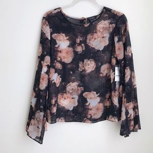 Lord and Taylor floral top